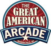 The Great American Arcade Logo